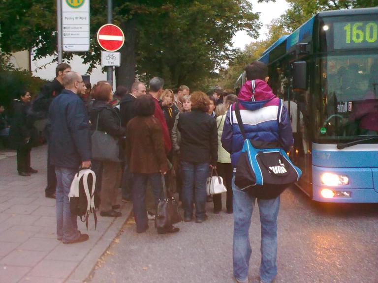 Occupy Omnibusse
