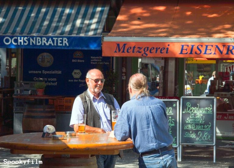 Morgens um 9.30 Uhr in München