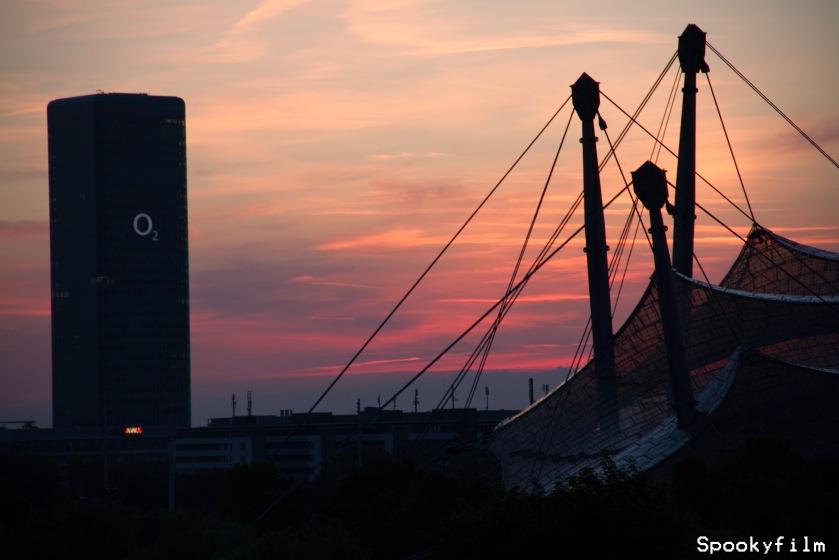O2_Olympiapark_Sonnenuntergang_Spookyfilm