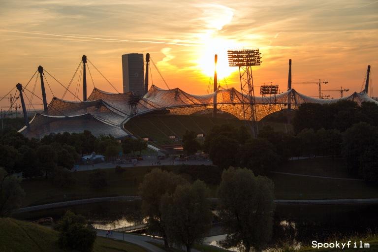 Olympiastadion_Sonnenuntergang_Spookyfilm