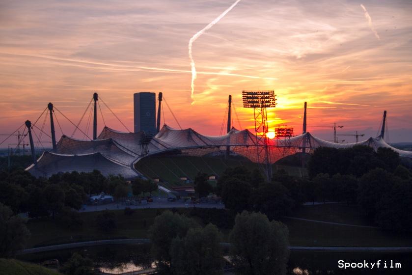 Olympiastadion_Sonnenuntergang_Spookyfilm_4