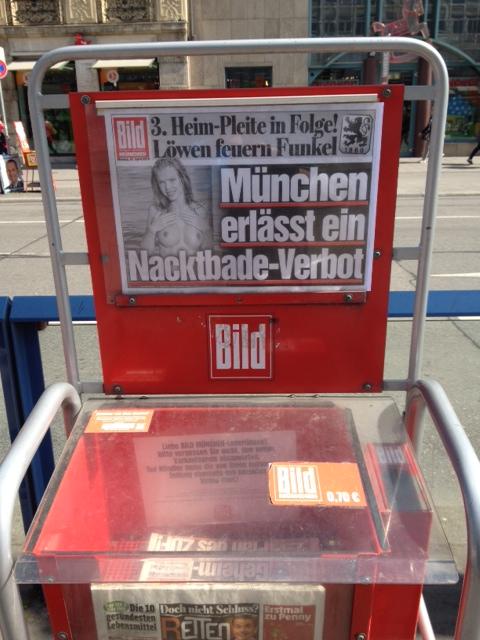 München erlässt ein Nacktbade-Verbot